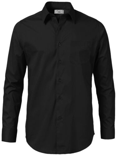 Boltini Italy Men/'s Long Sleeve Solid Convertible French Cuff Dress Shirt