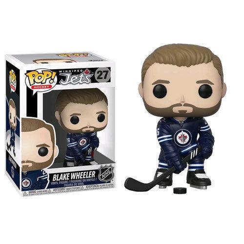 Funko NHL Wave 3 BLAKE WHEELER Winnpeg Jets Home JERSEY Canada Exclusive Pop Fig