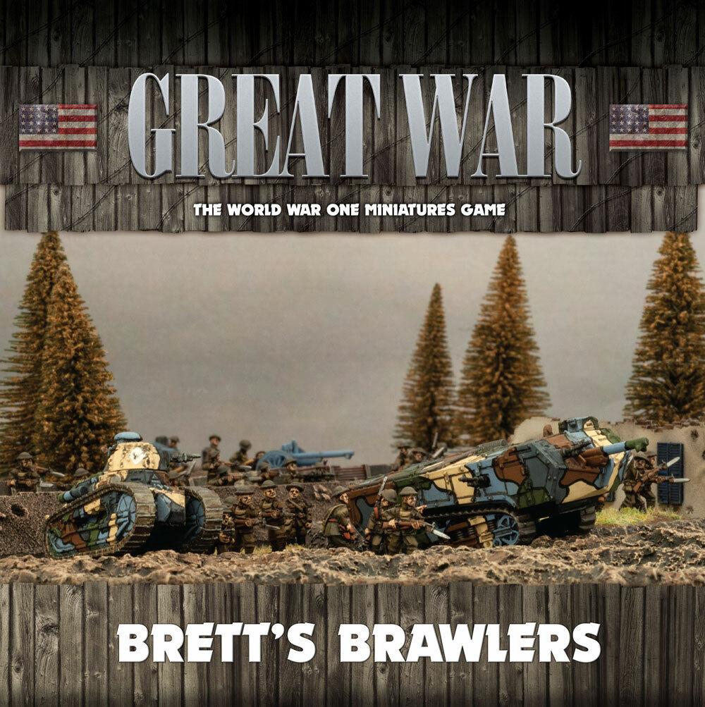 Flames of War BNIB Great War  Brett's Brawlers GUSAB02