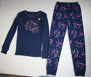 98b9f00aab6c NEW Gymboree Outlet Girls Glow Dark Unicorns Stars Gymmies PJs 3 8 ...