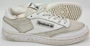 Reebok-Club-Classic-85-Scarpe-Da-Ginnastica-in-Pelle-BD1563-Bianco-UK10-US11-EU44-5