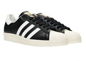 Adidas originals sneaker superstar 80s schwarz weiss herren