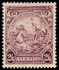"""BARBADOS 201 (SG256) - King George VI """"Colonial Badge""""  (pa50807)"""