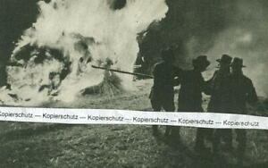 Lüdge in Westfalen - Rollen der Osterfeuerräder - um 1935             T 29-13