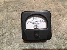Vintage Radio Panel Meter Ampex Control Range Indicator Me 288