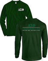 Delta Sigma Phi Fraternity Long Sleeve Shirt - Many Colors