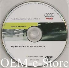 2005 2006 2007 2008 2009 Audi A3 RNS-E Navigation OEM DVD Map U.S Canada