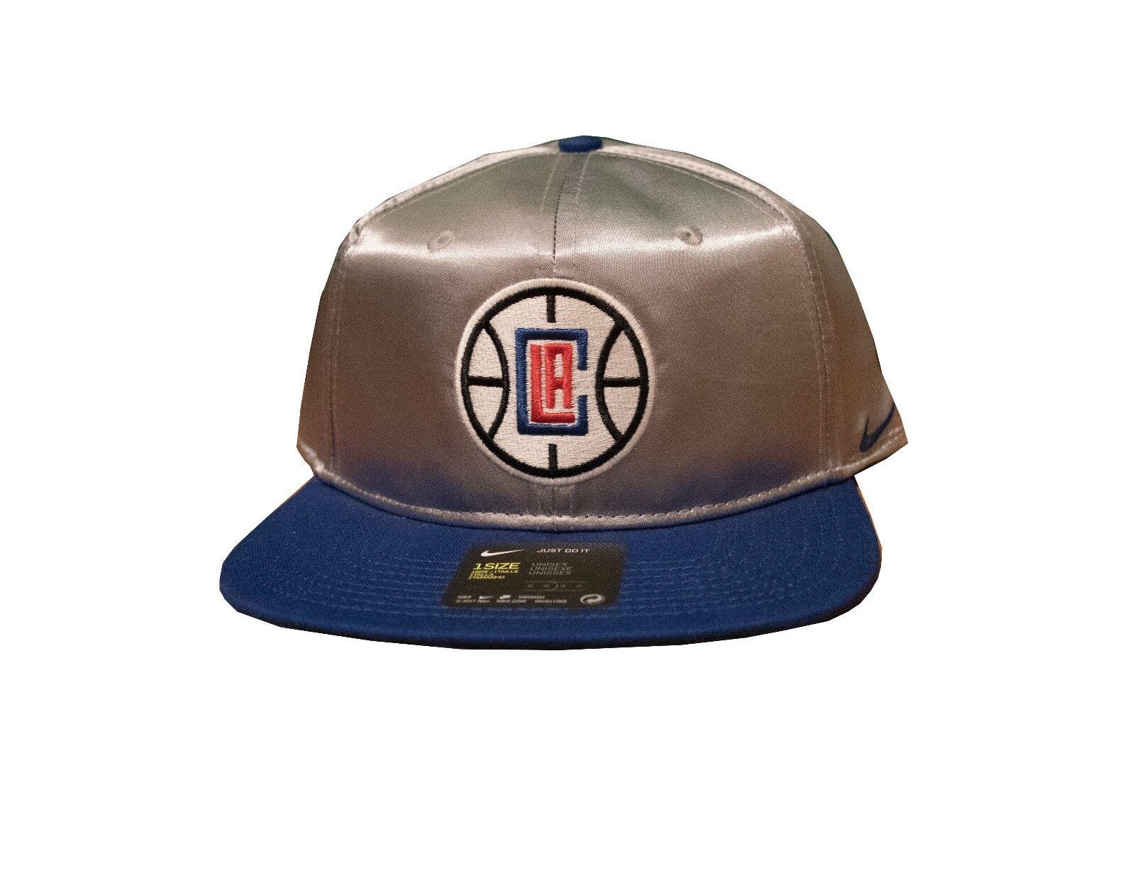 best website d6888 939f9 Nike LA Los Angeles Clippers Official NBA Adjustable Snap Snapback Hat Cap
