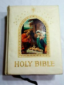 Holy-Bible-King-James-Version-PEACE-OF-MIND-Deluxe-Family-Collectors-Edition