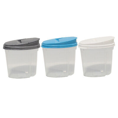 Food Storage Cereal Container with  Top Blue 1500ml