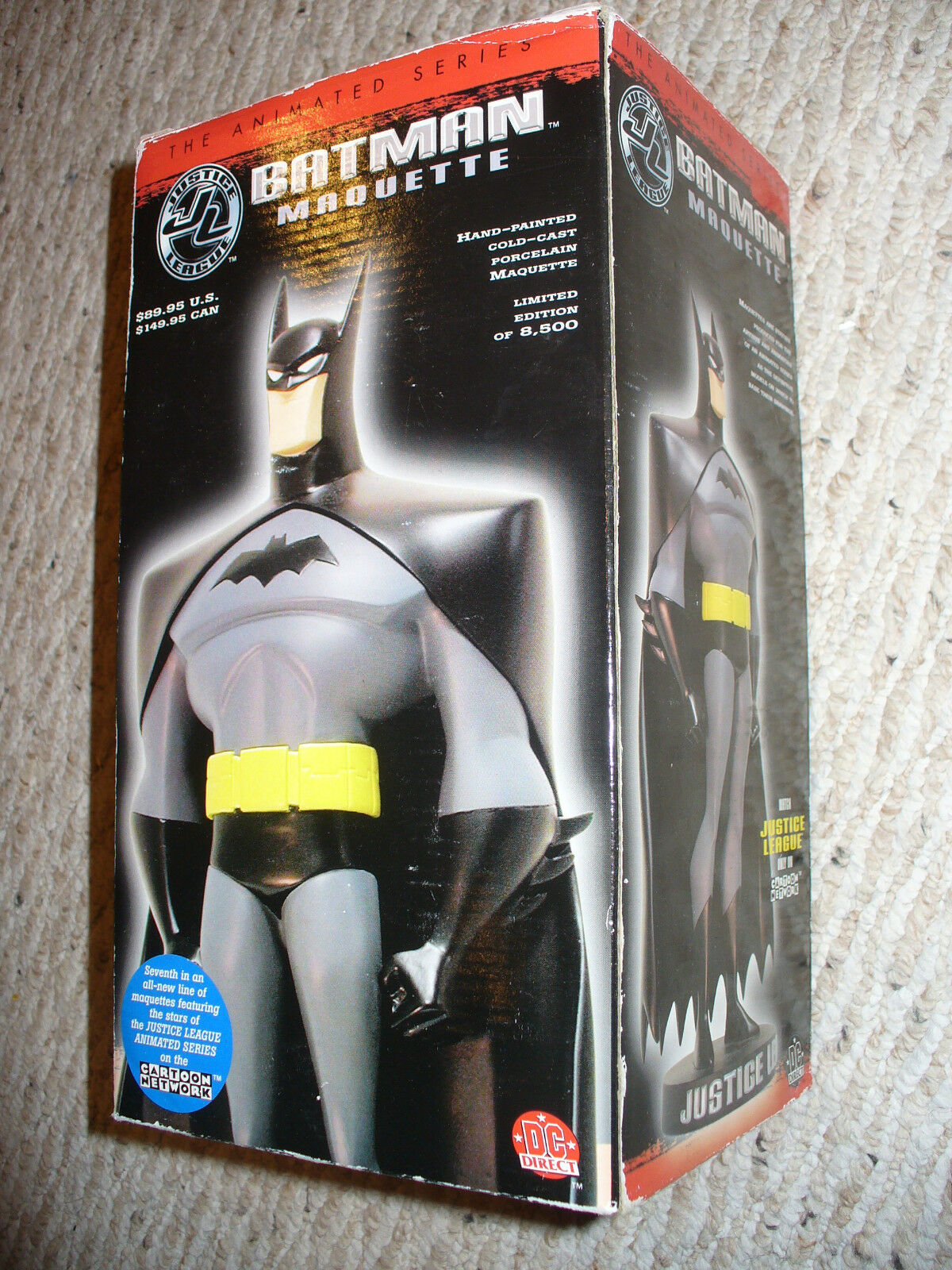 DC Batman The Animated Series Maquette Justice League   1708   8500