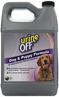 Urine Off Odor And Stain Remover Dog Formula, 1 Gallon , New, Free Shipping on sale