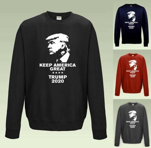 KEEP AMERICA GREAT B Donald Trump 2020 Sweatshirt JH030 Sweater