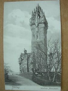 VINTAGE-POSTCARD-WALLACE-MONUMENT-STIRLING-SCOTLAND