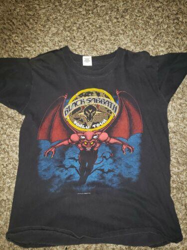 1981 Black Sabbath Tour Shirt Large Original