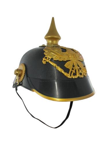 Ww1 Ww2 German Russian Pickelhaube Helmet Prussian Helmet Spiked Officer Helmet