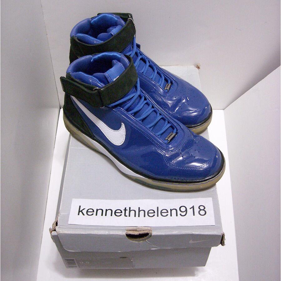 2007 nike air force 25 b scarpe da basket del sz royal bianco nero Uomo sz del 9,5 3dafba