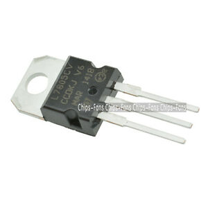 100Pcs-LM7805-L7805-7805-TO-220-Voltage-Regulator-IC-top