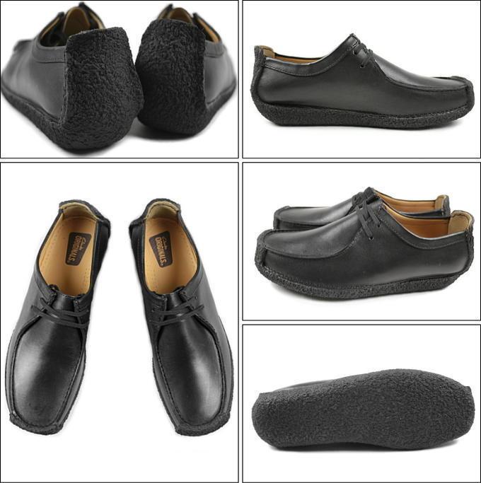 Clarks ORIGINAL Uomo Uomo Uomo ** Natalie in pelle nera, casual scarpa ** G 359c26