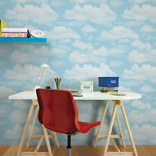 Fresco Great Value Cloud Nine Sky Print Clouds Wallpaper Bedroom Playroom