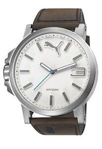 reloj hombre puma acero
