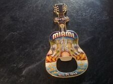HARD ROCK CAFE BOTTLE OPENER MAGNET. MIAMI V8