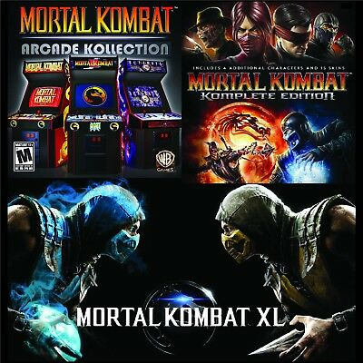 Mortal Kombat Kollection (PC) [Steam] [5 Games] | eBay