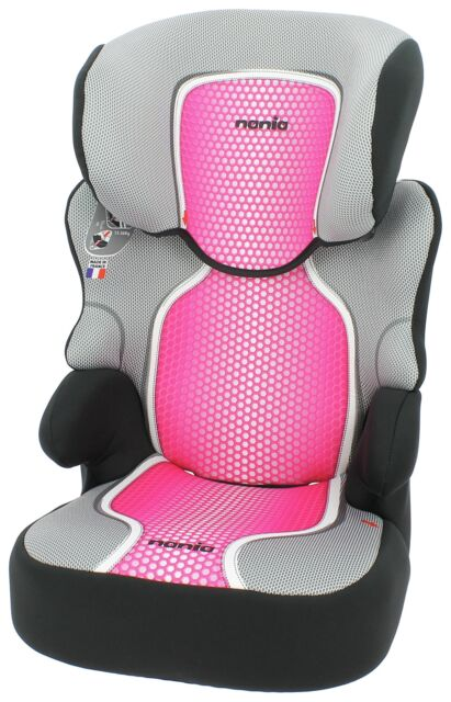 Nania Groups 2 3 Befix SP First Pop Pink Booster Car Seat