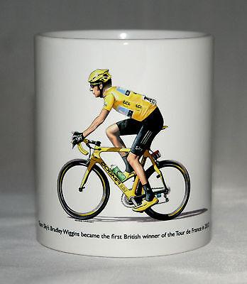 Cycling Mug. Bradley Wiggins, 2012 Tour de France Winner