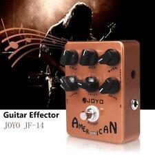 JOYO Jf-14 American Sound Guitar Amp Simulator Effect Pedal Orange Body USA B5m0