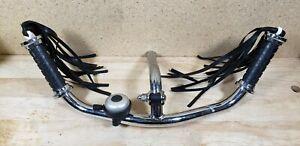 Original Schwinn Roadster Tricycle Handle Bars W Tassles