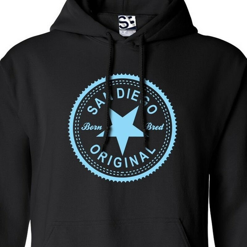 San Diego Original Inverse HOODIE - Hooded Born & BROT in Sweatshirt All Farbes