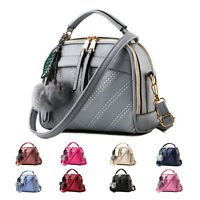 Women's Handbag PU Leather Shoulder Party Bag Ladies Satchel Tote Purse Bags UK