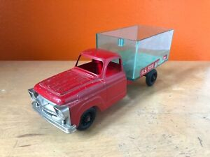 Vintage-Hubley-nos-piscifactoria-camion-Diecast-Die-Cast-Juguete-1950s-de-mediados-de-siglo-MCM