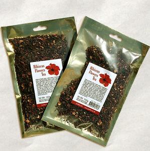 Hibiscus-Flowers-Tea-100g-Dried-Fine-Cut-Loose-Leaf-Herbal-Tea