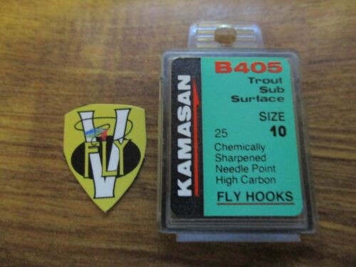 Kamasan B405 Sub Surface Trout Hooks Sizes 10-18