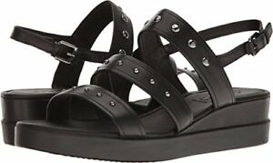 3ed4c0c39f35 Image is loading ECCO-Womens-Touch-Strap-Plateau-Wedge-Sandal-Pick-