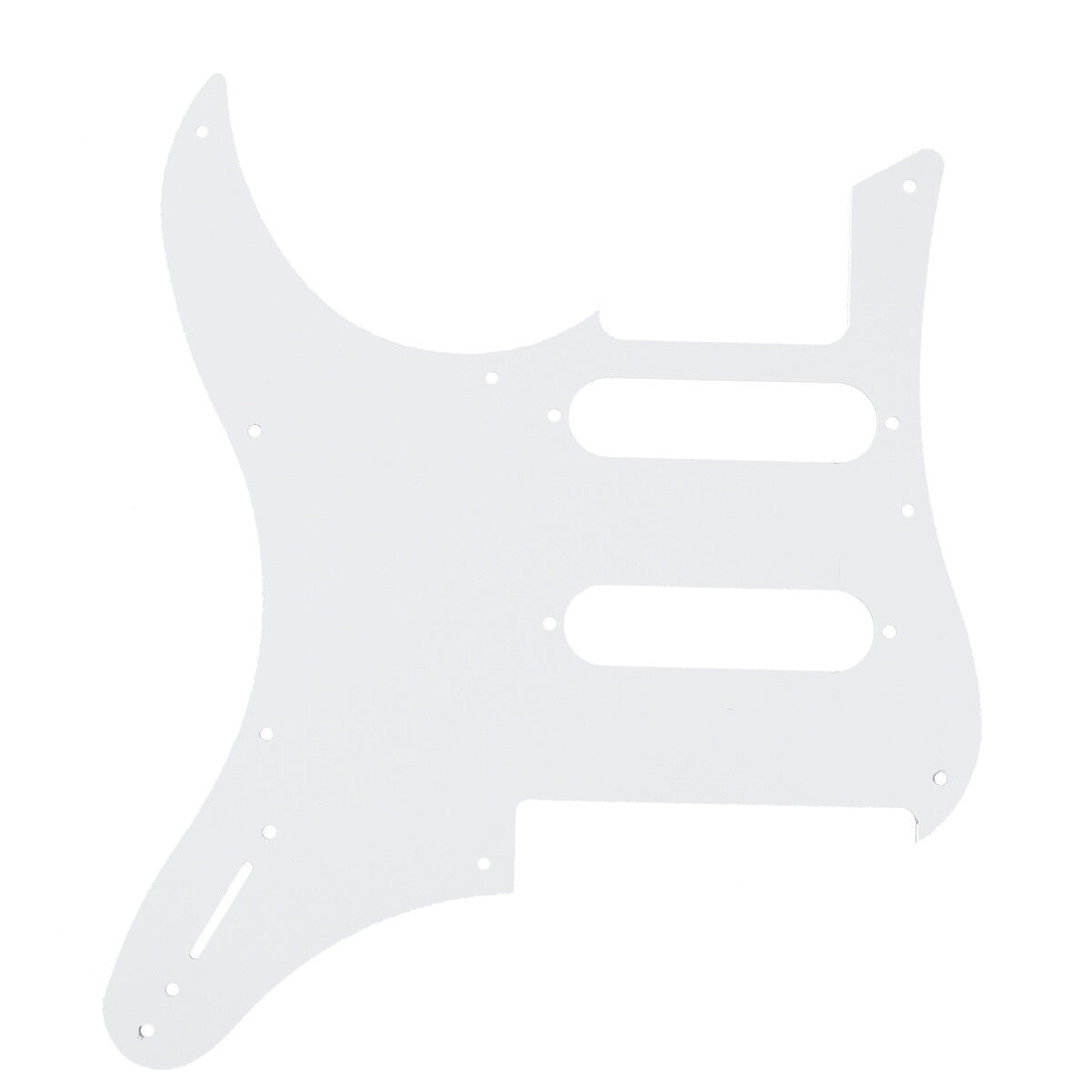 White Guitar Pickguard For Yamaha Pacifica 112v