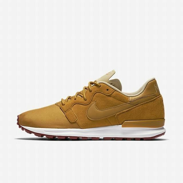 Nike MEN'S Air Berwuda Premium Desert Ochre SIZE 7 BRAND NEW RARE COLOR WHEAT