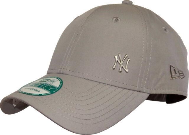 83db02a2d7906 Era MLB Flawless Logo 9forty Adjustable Cap NY Yankees Grey One Size ...