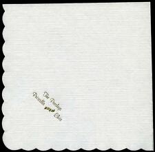 AUTHENTIC ELVIS AND PRISCILLA PRESLEY PAPER NAPKIN