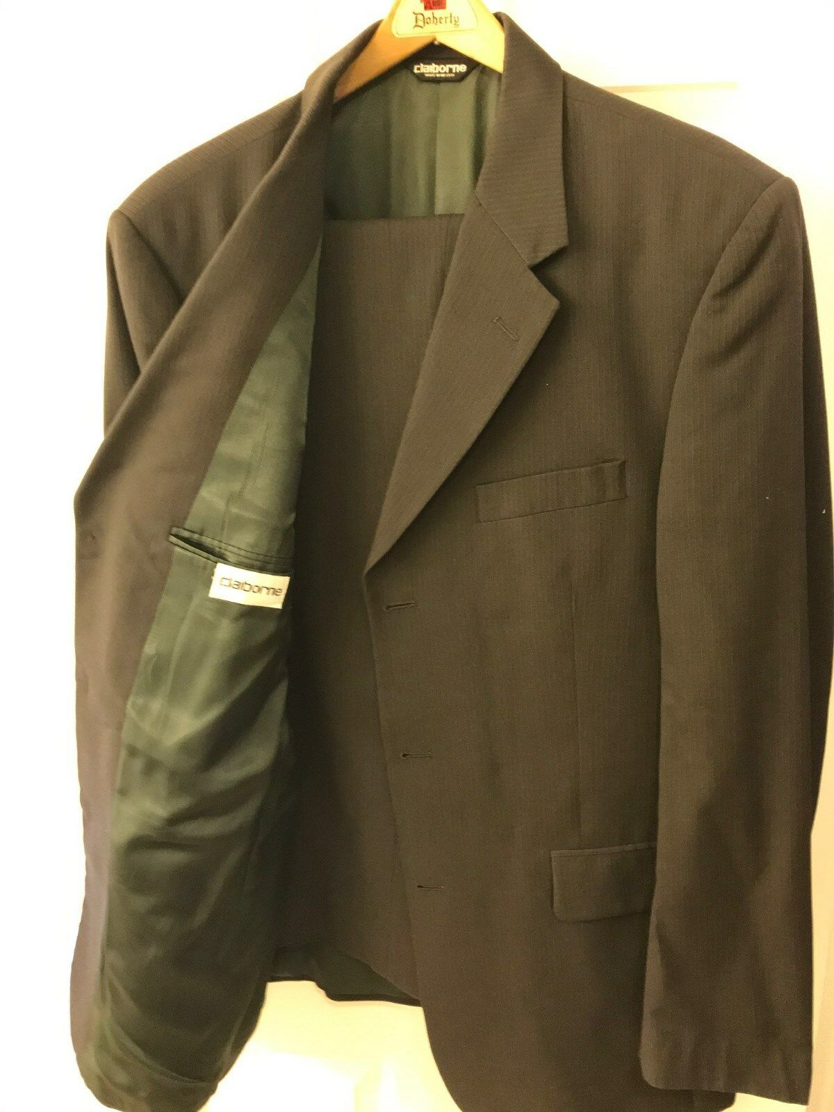 Claiborne Men's Dress Suit Brown 42L
