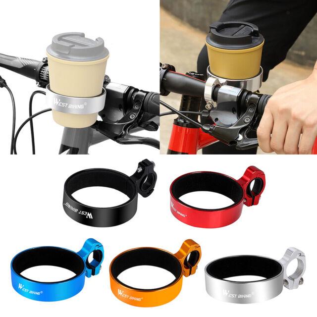 Bicycle Cup Holder Handlebar Clamp Mount Coffee Mug Drink Mount Bracket Rack