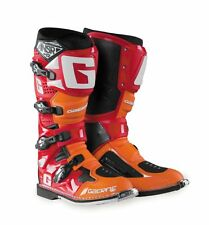 GAERNE SG12 LIMITED EDITION ANSR  ORANGE/RED WITH WHITE TRIM SIZE 10