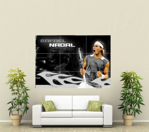 Rafael Nadal Tennis Giant XL Section Wall Art Poster SP116