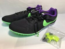 375700e9e75ea item 6 Nike Zoom Rival MD 8 Black Green Purple Mens US Size 13 Track Spikes  806555-035 -Nike Zoom Rival MD 8 Black Green Purple Mens US Size 13 Track  Spikes ...