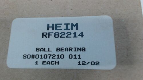 HEIM RF82214  BALL BEARING NEW