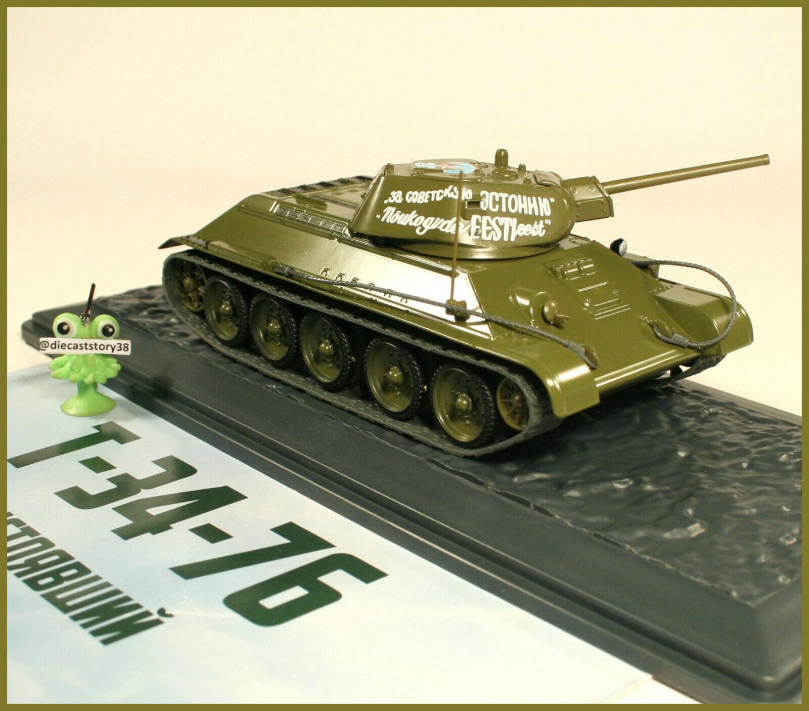 1 43 Panzer T -34 -76 1942 tärningskast Russian Modimo tankar {65533;65533; 10 URSS USSR USSR DDR