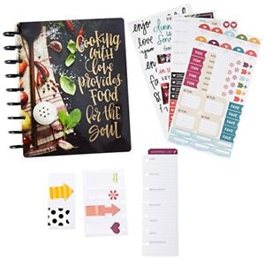 image is loading happy planner cooking recipe ideas organizer disc bound