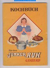 Kochbuch für den JUNKER & RUH Gasherd-Karlsruhe 1939